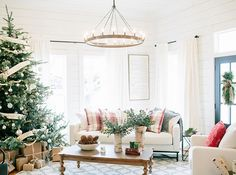 """""""I also love a Christmas tree that displays years of memories and sweet moments as a family,"""" says Joanna Gaines."""