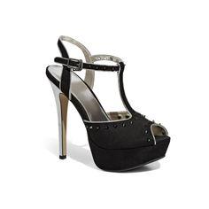 Sandalo T-bar con tacco 12cm - Donna - Collezione Scarpe Donna - Pittarello Rosso