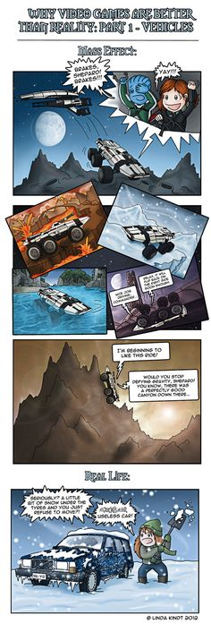 Why Video Games Are Better Than Reality: Part 1 by Isriana on DeviantArt