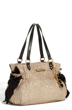 Juicy Couture 'Stardust Glitter Daydreamer' Tote