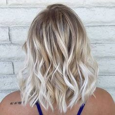 Beachy waves in a long bob
