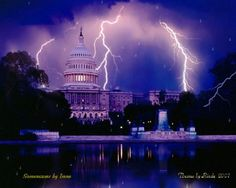 Storm over the capital