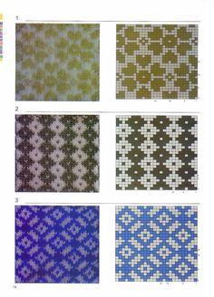 【转载】超级配色花样图案300例 - 暖儿的日志 - 网易博客