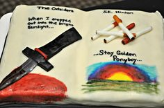The Outsiders at Johnson & Wales University Denver Campus Library's Edible Book Contest April 2015