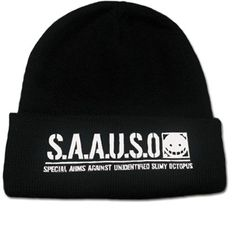 S.A.A.U.S.O Black and White Beanie