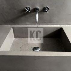 Microcement Washbasin