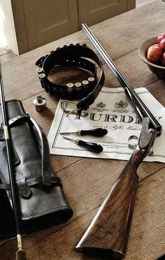 Suburban Men - Daily Man Up Photos) - October 2015 Sporting Clays, Pheasant Hunting, Grouse Hunting, Quail Hunting, Gun Art, Double Barrel, Hunting Rifles, Man Up, Cool Guns