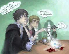 Harry Potter Sherlock Crossover | deviantART: More Like Omar / Jason Todd by ~birdblinder