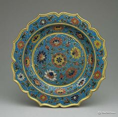Cloisonné is an ancient technique for decorating metalwork objects, in recent centuries using vitreous enamel, and in older periods also inlays of cut gemstones, glass, and other materials. More info@http://www.chinatraveldesigner.com/travel-guide/culture/culture-relics/jing-tai-lan.htm