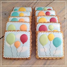 Baloon cookies | Cookie Connection