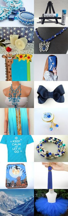 Touches of Blue by Nancy on Etsy--Pinned with TreasuryPin.com #bluegiftguide