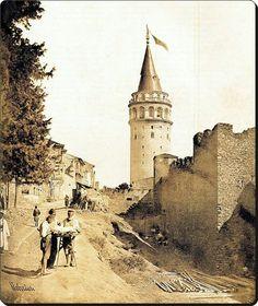 Galata Kulesi - 1854  Fotoğraf : James Robertson