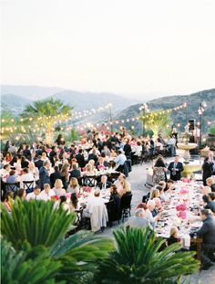 Hummingbird Nest Wedding by Beth Helmstetter Events + Jose Villa   Style Me Pretty