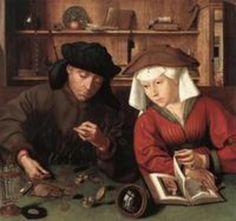 The Money changers - Quinten Massijs, 1514