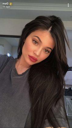 Kylie via snapchat