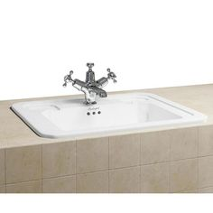 Discover the gorgeous Burlington Classic 54cm Inset Basin online and transform the look of your period bathroom. Buy now at Victorian Plumbing.co.uk.