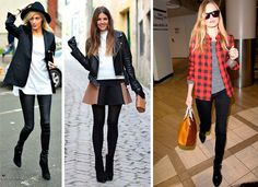 Looks con botines con resultados muy esbeltos. #zapatos #botines #looks
