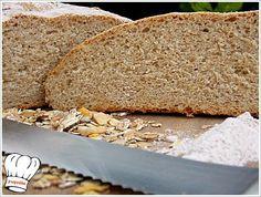 ΕκτύπωσηΣυνταγής ΣΠΙΤΙΚΟ ΨΩΜΙ ΟΛΙΚΗΣ ΑΛΕΣΗΣ!!! By Γωγώ 1 Οκτωβρίου 2014 Τι πιο νοστιμο και πιο υγιεινο απο το σπιτικο ψωμι,και μαλιστα ολικης αλεσης? Δοκιμαστε το και απολαυστε το!!! Συστατικά αλευρι - 300 γρ. ολικης αλεσης καλης ποιοτητας κοσκινισμενο αλευρι - 300 γρ. δυνατο μαγια - 9 γρ.ξηρη μαυρη ζαχαρη - 1 κ.γλυκου ελαιολαδο - 4 … Greek Recipes, Banana Bread, Food To Make, Food Processor Recipes, Food And Drink, Cooking, Desserts, Breads, Foods