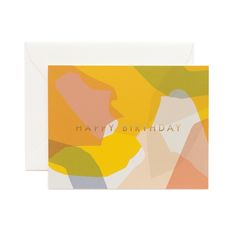 CARTE MODERNE BIRTHDAY, RIFLE PAPER CO x GARANCE DORÉ — Stereo Fields Forever