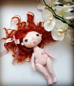 Textile doll Poupée textile Cloth doll Tilde Doll Decor Doll