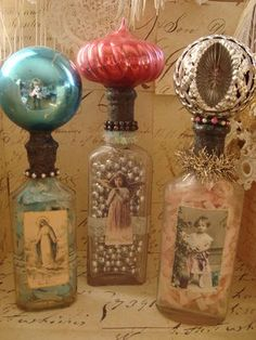 pretty little bottles