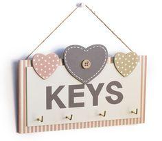 Κλειδοθήκη Ξύλινη Keys Pallets, Wood, Diy, Home Decor, Decoration Home, Woodwind Instrument, Bricolage, Room Decor, Timber Wood