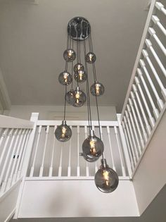 For buying a chandelier in Europe, you are at the right place at HPV Chandeliers! Take a look at the Vide lamps projects we have executed worldwide. High Ceiling Lighting, Stairway Lighting, Entrance Lighting, Interior Lighting, Chandelier Lighting, Ceiling Lights, Chandeliers, Foyer Flooring, Modern Light Fixtures