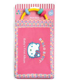 Take a look at this Hello Kitty Baby Photo Book by Hello Kitty on #zulily today!