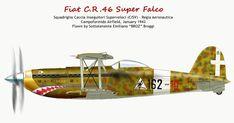 Italian Air Force, Old Planes, Plane Design, Experimental Aircraft, Ww2 Aircraft, Aviation Art, Radio Control, Fiat, World War