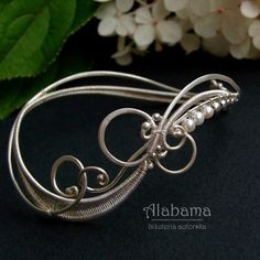 In white - komplet ślubny Biżuteria Komplety Alabama