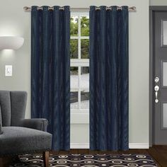 love this rugs. Blackout Panels, Blackout Windows, Blackout Curtains, Elegant Curtains, Colorful Curtains, Grommet Curtains, Panel Curtains, Striped Room, Room Darkening