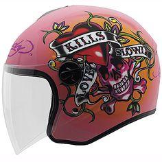 Ed Hardy Love Kills Slowly Helmet