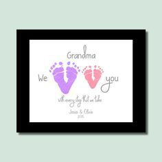 Personalized Mother's Day Gift Baby von PerfectLittlePrints