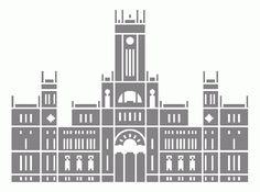 Graffic! Edificios emblemáticos de Madrid. Palacio de Comunicaciones.