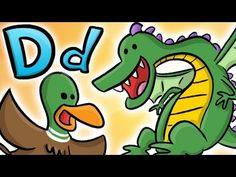 Alphabet Letters - D is for Dragons! And Donuts! - YouTube Letter Recognition Kindergarten, Preschool Letters, Alphabet Activities, Kindergarten Activities, Preschool Activities, Alphabet Letter Crafts, Letter D, Teaching The Alphabet, Teaching Phonics