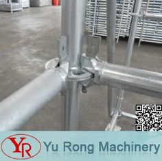 Ring-lock scaffolding, one of the support system for construction, owns advantages both cup-lock scaffolding and shoring tower.