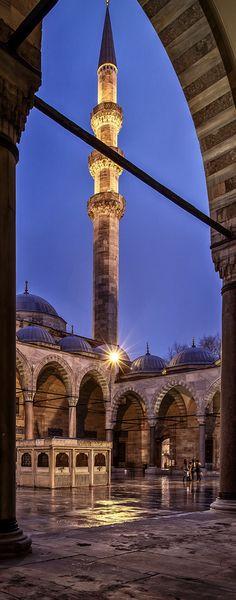 Suleimaniye Mosque, Istanbul, Turkey