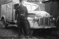 Steyr 1500 A, Funkwagen (Kfz 17), in a Panzer unit). The Steyr 1500 A resp. 2000 A was made only in small numbers as lorry (type 270) with platform.   The closed standard box body was used more frequently. Vehicles with the closed standard box body were mainly used as Funkkraftwagen – radio motor vehicle (Kfz 17) or Krankenkraftwagen (Kfz 31).