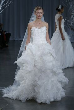 Endless Glam: #Monique_Lhuillier Bridal Collection Fall 2013