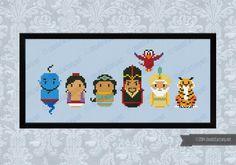 Aladdin - Cross Stitch Patterns - Products