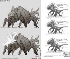Mais concepts do game Singularity | THECAB - The Concept Art Blog