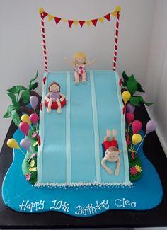 Water Park Cake