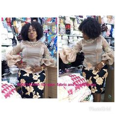 sewing solutions Sales of Sewing Accessories Laces Fabric For both Men and Women, Whole African Attire, African Wear, African Fashion Dresses, African Dress, African Lace Styles, African Tops, Short Gowns, Big Girl Fashion, Mode Hijab