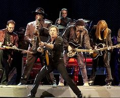 Bruce Springsteen and the E Street Band - Love the cool, bluesy/funk look of the E Street Band