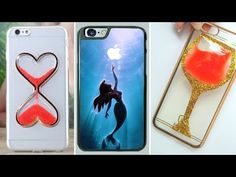 5 DIY Phone Case Designs – How To Make Slime, Pusheen, Piano, Map and Studded Phone Covers - YouTube