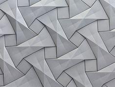 Wallcoverings / Organic Geometric Concrete Tile by KAZA Concrete concrete tile collection 8