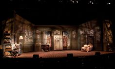 The Drowsy Chaperone. Surflight Theatre. Scenic design by Ted LeFevre. Lighting by Jeff Greenberg. 2010