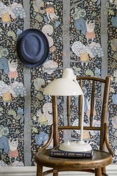 BorasTapeter - Scandinavian Designers Mini Collection - Charlie Wallpaper from Rockett St George Rockett St George Childrens Bedroom Wallpaper, Kids Bedroom, Bedroom Decor, Bedroom Interiors, Ladies Bedroom, Wallpaper Collection, Night Sky Wallpaper, Black Wallpaper, Wallpaper Ideas