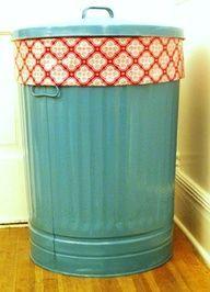 Repaint & add fabric around rim