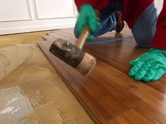 How to Install Bamboo Plank Flooring – DIY Network How to Install Bamboo Plank Flooring How to Install Bamboo Flooring Slate Flooring, Diy Flooring, Bedroom Flooring, Kitchen Flooring, Flooring Ideas, Installing Bamboo Flooring, Penny Flooring, Ceramic Flooring, Garage Flooring